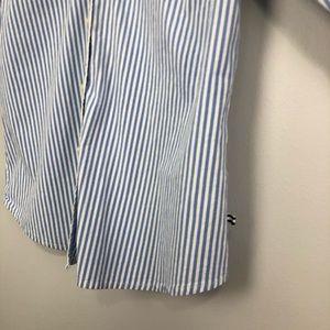 Izod Tops - Izod Button Down Oxford Shirt Size: M